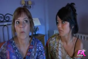 Mother and Daughter Fucking - Jasmina and Delia Hernandez Españ olas