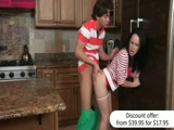 Kendra Lust caught Katie St Ives banging her BF in the kitchen