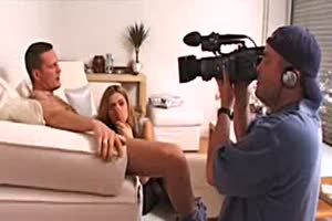 making of du film la candidate avec Clara Morgane